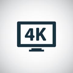 4k tv icons