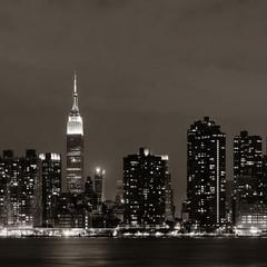 Fototapete - NY night