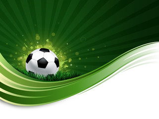 soccer wave background