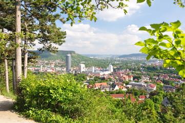 Blick auf Jena / Thüringen