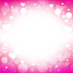 Valentines Magenta Background