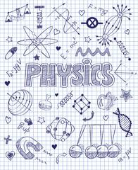 handwritten Physics set