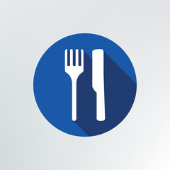 fork and knife Icon.