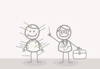 Doodle : acupuncturist