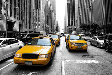 New York Taxi Fototapete