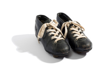 Pair of old soccer boots