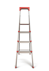 Stepladder front view