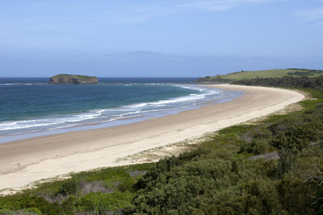 Shellharbour in Killalea state park
