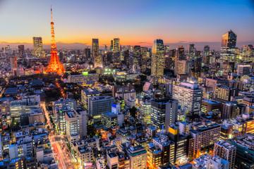 Spoed Foto op Canvas Tokio Tokyo, Japan.