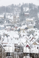 Kulmbach (Franken) im Winter