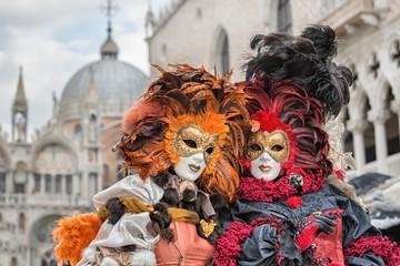 Wall Murals Venice Carneval mask in Venice - Venetian Costume