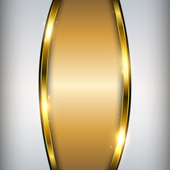 Abstract gold background, shiny and glossy