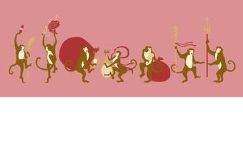 七福神の猿