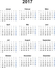 Bilder und Videos suchen: kalenderwochen