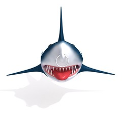Shark 3d illustration