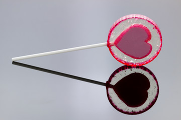 lollipop with reflection