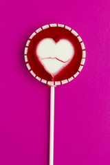 lollipop on paper