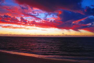 sunset at Ningaloo Coast, West Australia