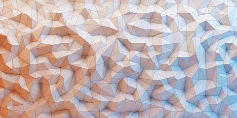 3d vector polygon backround - polygon Vektor Hintergrund