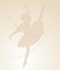 ballerina curva rosa
