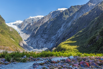 Beautiful Franz Jozef Glacier, South Island, New Zealand
