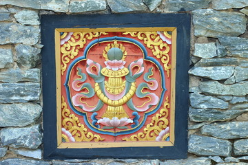 Bhutanese style art