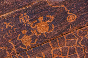 Petroglyph Turtles