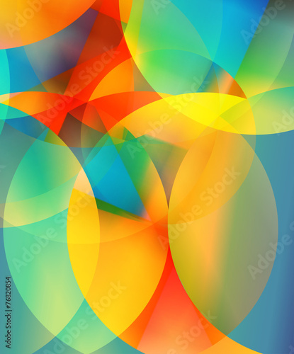 Abstract Digital Background A4 Size Page Cover Design