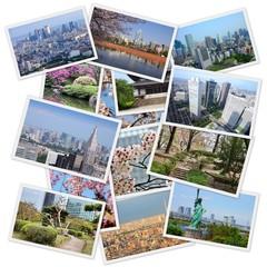 Tokyo collage