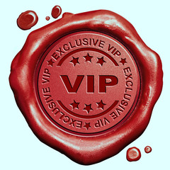 exclusive VIP stamp