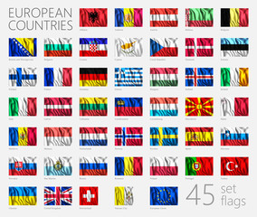 European Country Flags