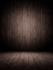 Innrenraum aus Holz.