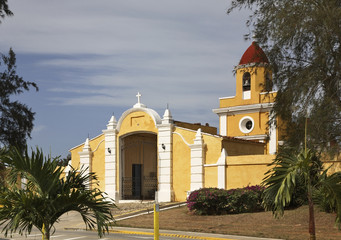Cemetery in Trinidad. Cuba