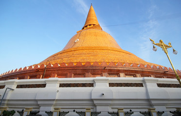 PHRA PRATHOM JEDI temple, The big Pagoda of Thailand