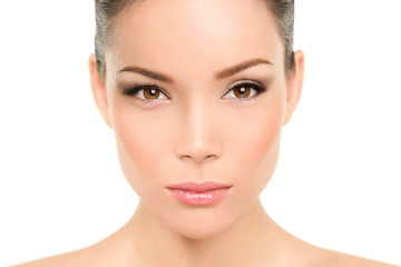 Asian beauty woman