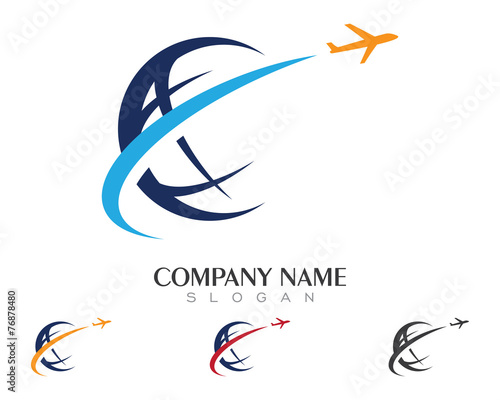 """Tour & Travel Logo V.1"" Stock image and royalty-free ..."