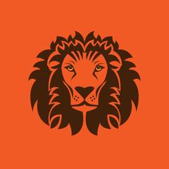 Lion symbol, vector
