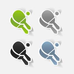 realistic design element: tennis
