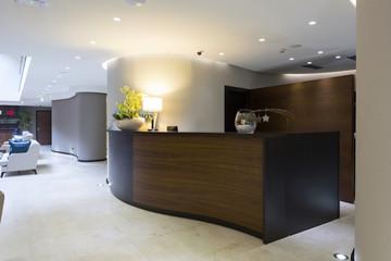 Hotel interior - reception area