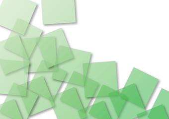 sfondo geometrico verde
