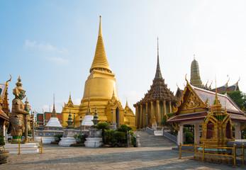 Poster de jardin Bangkok Wat Phra Kaew, Temple of the Emerald Buddha, Bangkok, Thailand.