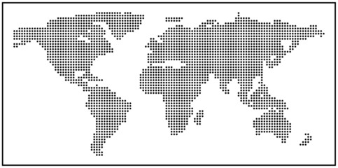 World map made of dots buy this stock vector and explore similar see more gumiabroncs Choice Image