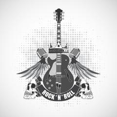 Rock n roll symbol