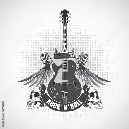 Rock N Roll Symbol Stock Image And Royalty Free Vector Files On
