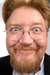 Funny Comical Man Face