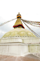 Swayambhunath Stupa from II level, Kathmandu,