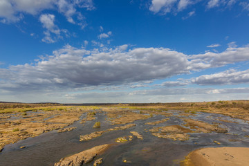 Olifants river on Kruger park