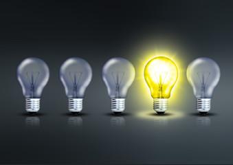 Besondere Glühlampe