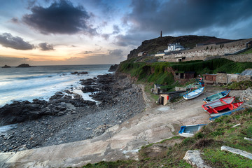 Wall Mural - Dusk over Cape Cornwall