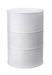 White metal barrel